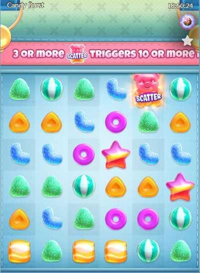 candy burst slotpg