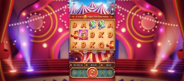 pg slot circus delight