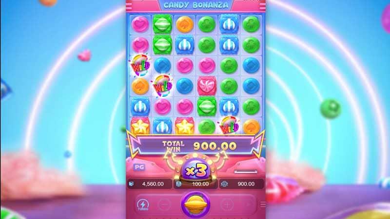 เกมใหม่ Candy Bonanza