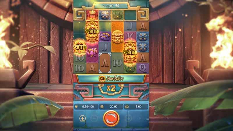 แนะนำเกม Treasures of Aztec slot