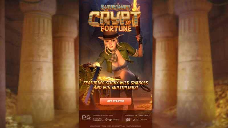 แนะนำเกม Raider Jane's Crypt of Fortune pg slot